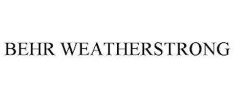 BEHR WEATHERSTRONG