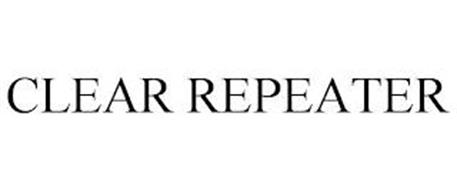 CLEAR REPEATER