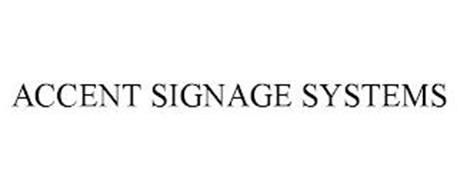 ACCENT SIGNAGE SYSTEMS
