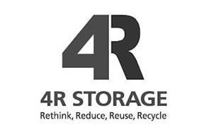4R 4R STORAGE RETHINK REDUCE REUSE RECYCLE