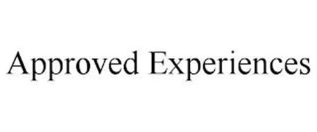 APPROVED EXPERIENCES