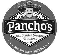 PANCHO'S AUTHENTIC RECIPE SINCE 1956 MADE WITH QUALITY INGREDIENTS
