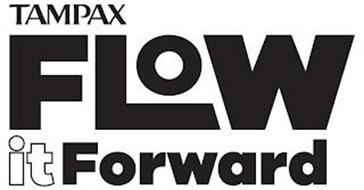 TAMPAX FLOW IT FORWARD