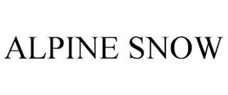 ALPINE SNOW