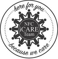 NFC ICARE TEAM HERE FOR YOU BECAUSE WE CARE