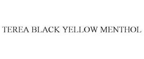TEREA BLACK YELLOW MENTHOL
