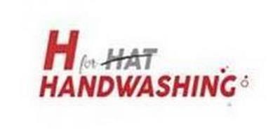 H FOR HAT HANDWASHING