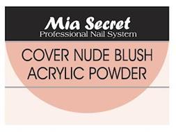 MIA SECRET PROFESSIONAL NAIL SYSTEM COVER NUDE BLUSH ACRYLIC POWDER