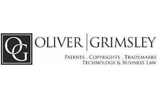 OG OLIVER   GRIMSLEY PATENTS COPYRIGHTS TRADEMARKS TECHNOLOGY & BUSINESS LAW
