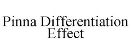 PINNA DIFFERENTIATION EFFECT