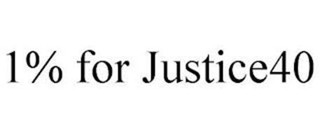 1% FOR JUSTICE40