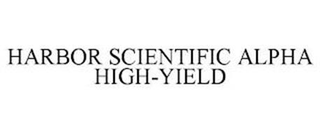 HARBOR SCIENTIFIC ALPHA HIGH-YIELD
