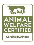 ANIMAL WELFARE CERTIFIED CERTIFIED GAP.ORG
