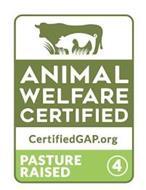 ANIMAL WELFARE CERTIFIED CERTIFIEDGAP.ORG PASTURE RAISED 4