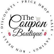 THE COUPON BOUTIQUE DISCOUNTS PRICE DROP SALE SAVINGS RUN DEALS