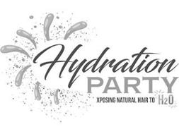 HYDRATION PARTY XPOSING NATURAL HAIR TO H2O