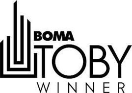 BOMA TOBY WINNER