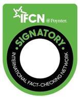 IFCN @POYNTER. INTERNATIONAL FACT-CHECKING NETWORK SIGNATORY