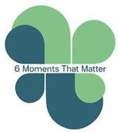 6 MOMENTS THAT MATTER