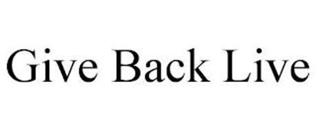 GIVE BACK LIVE