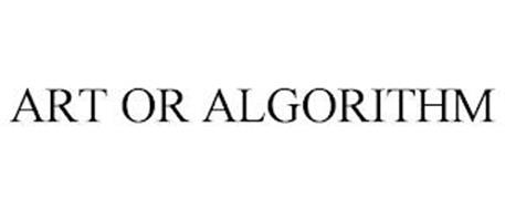 ART OR ALGORITHM