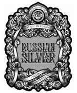 PREMIUM QUALITY VODKA MADE IN RUSSIA SILVER FILTRATION RUSSIAN SILVER