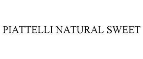 PIATTELLI NATURAL SWEET