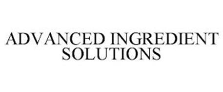 ADVANCED INGREDIENT SOLUTIONS