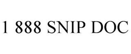 1 888 SNIP DOC