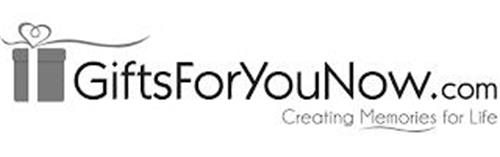 GIFTSFORYOUNOW.COM CREATING MEMORIES FOR LIFE