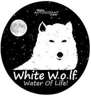 ALKALINE ANTIOXIDANT IONIZED WHITE W.O.LF. WATER OF LIFE!