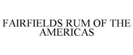 FAIRFIELDS RUM OF THE AMERICAS