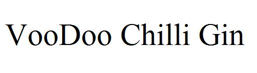 VooDoo Chilli Gin